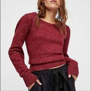 Free People Complete Me Cozy Alpaca Blend Sweater